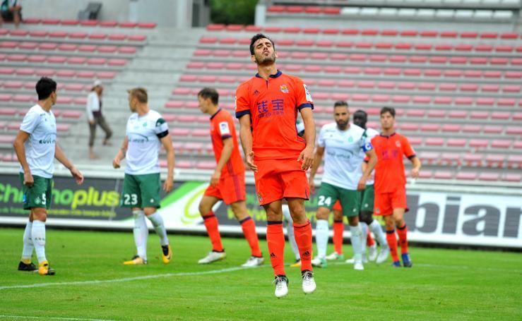 Saint-Etienne 1 - 1 Real Sociedad, en imágenes