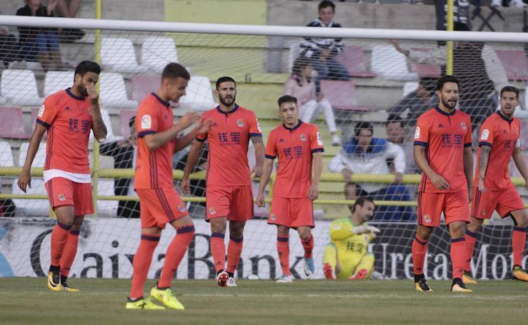 La Real gana 2-3 al Burgos