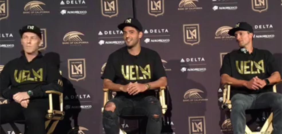 Carlos Vela: «Es un honor para mí ser parte de esta nueva familia»