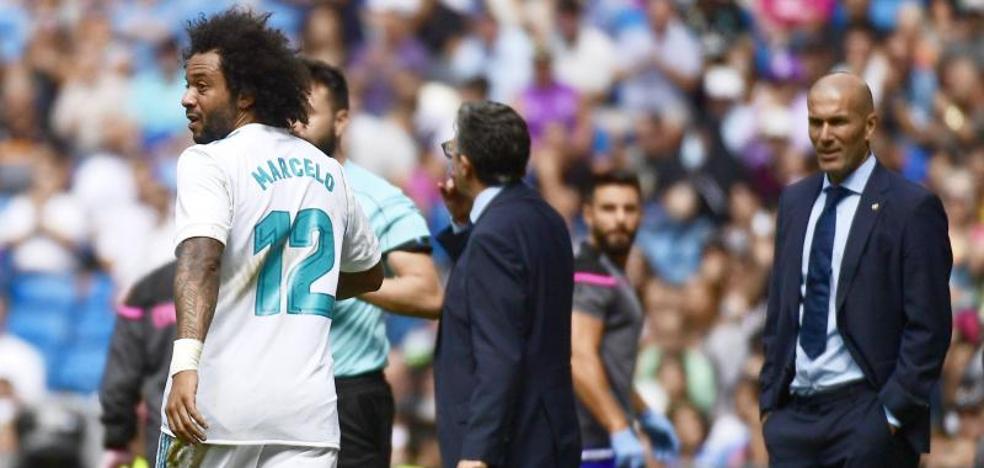 El Madrid puede visitar Anoeta sin Marcelo y Benzema, además de Cristiano