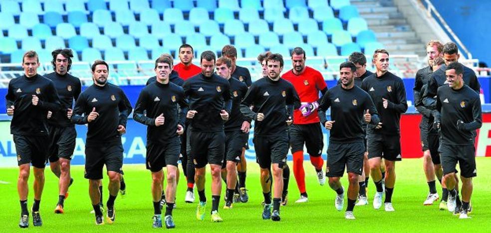 La Real Sociedad, a defender el coliderato frente al Real Madrid