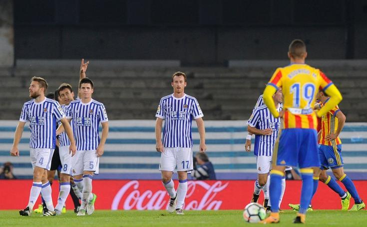 Real Sociedad 2 - 3 Valencia