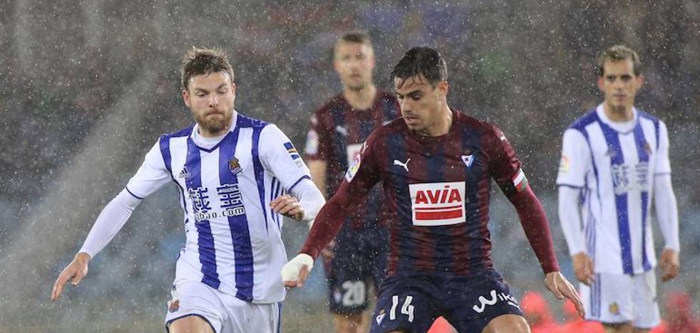 El Real Sociedad - Eibar se disputará el 5 de noviembre a las 18.30 horas