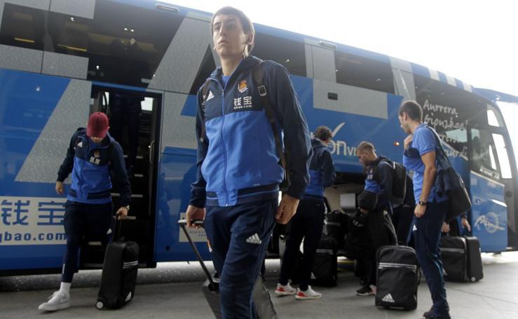La Real, en su viaje a Skopje