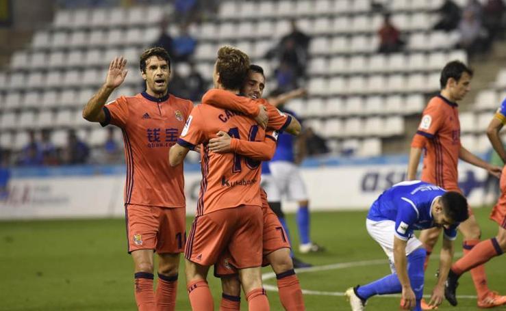 Las mejores imágenes del Lleida- Real Sociedad (0-1)