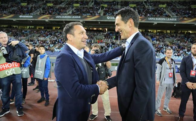 Eusebio afirma que lo importante para la Real Sociedad era lograr los tres puntos ante el Vardar