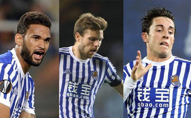 Odriozola, Illarramendi y Willian José brillan en las estadísticas de la Liga