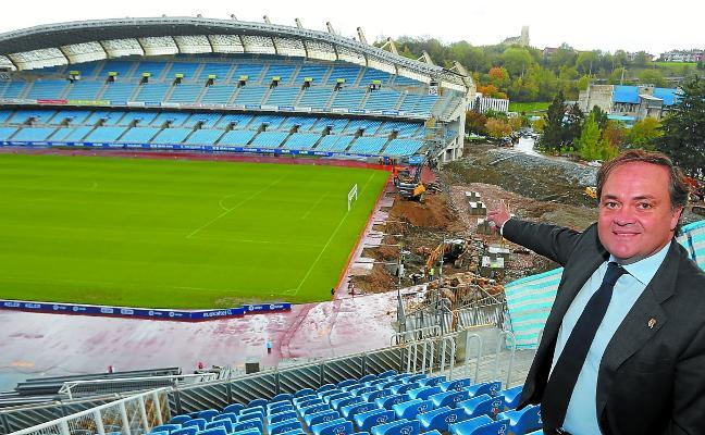 Jokin Aperribay: «El campo de fútbol era una obligación. No podíamos seguir con una venda en los ojos»
