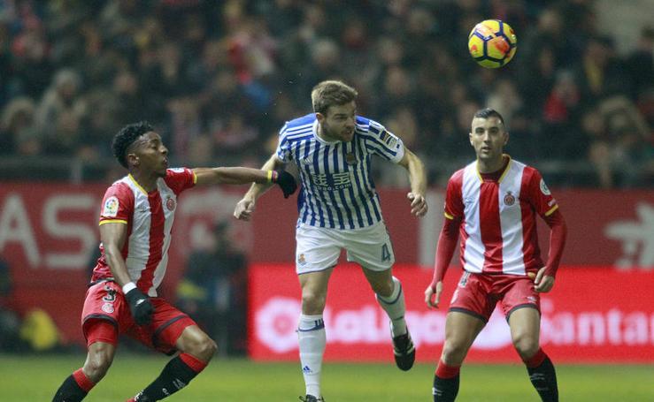 La Real no pasa del empate en Girona