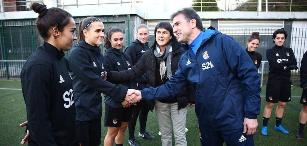 La Real Sociedad anuncia el fichaje de Gonzalo Arconada como técnico del equipo femenino
