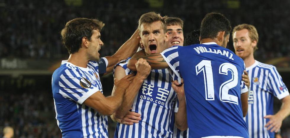 Diego Llorente y Zurutuza se quedan fuera de la lista de la Real Sociedad para Noruega