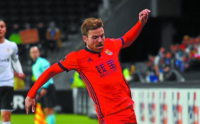 El uno a uno de la Real ante el Rosenborg
