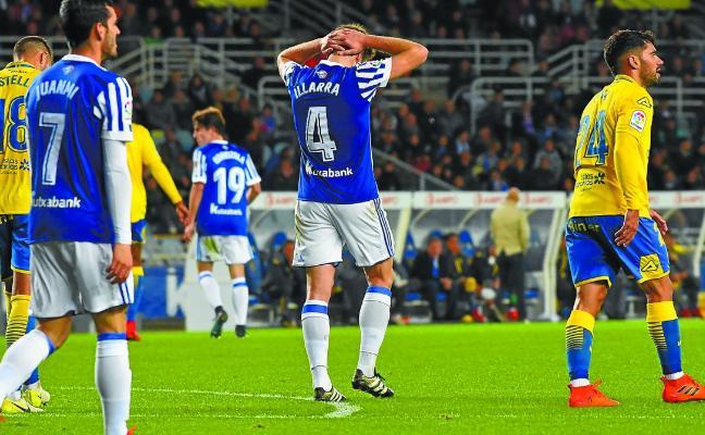 A la Real Sociedad le cansa jugar entre semana