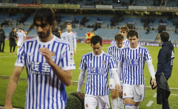 Real Sociedad-Lleida en imágenes