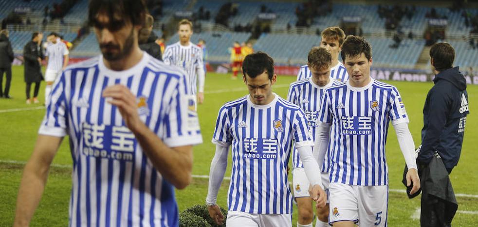 Desaparecidos: el uno a uno de la Real ante el Lleida