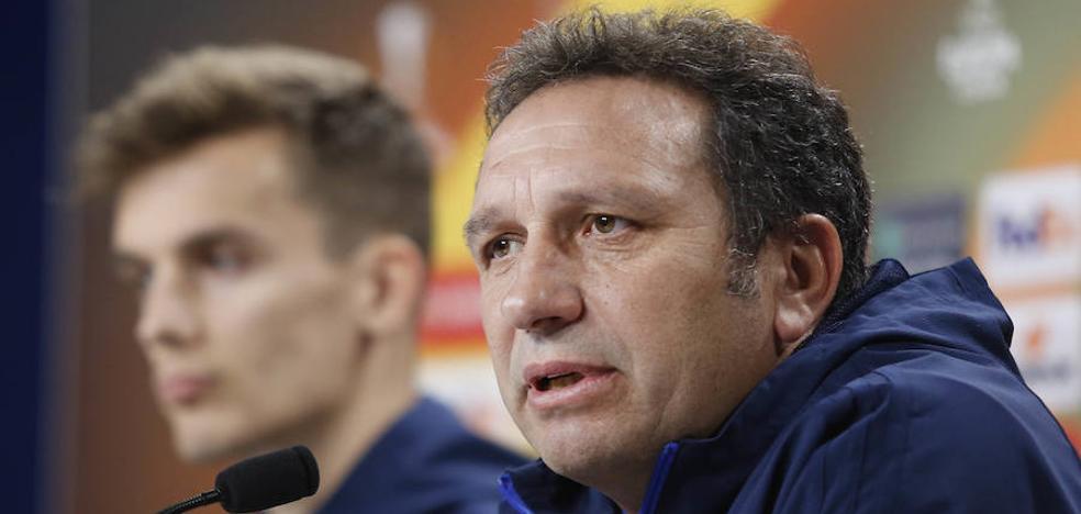 Eusebio: «Estamos en deuda con la afición y ante el Zenit queremos darle una alegría»