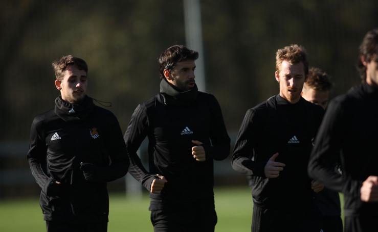 Último entrenamiento antes de recibir al Zenit