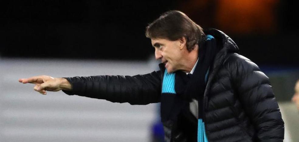 Mancini dice que su equipo le ha jugado «muy bien» a la Real