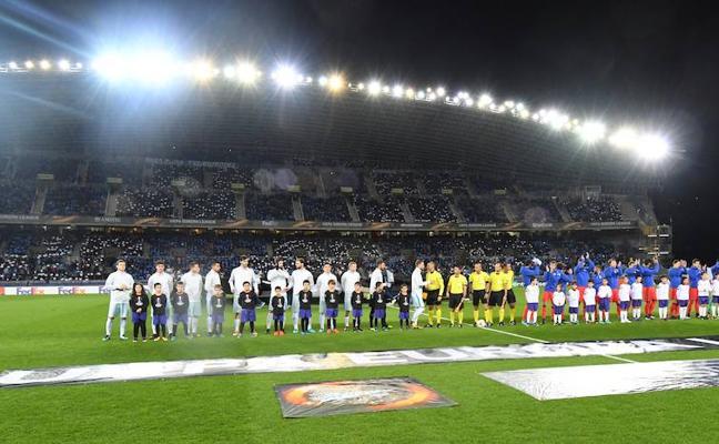 Los posibles rivales de la Real en dieciseisavos de la Europa League