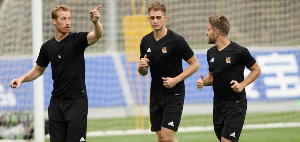 Kevin y Zurutuza, dudas para el partido ante el Málaga