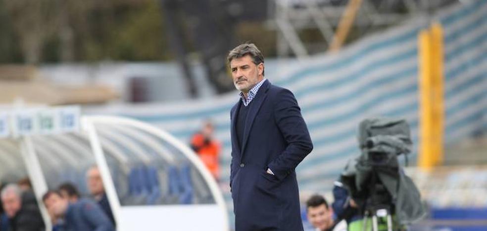 Míchel: «La Real no es un rival fácil de contrarrestar y lo hemos conseguido»