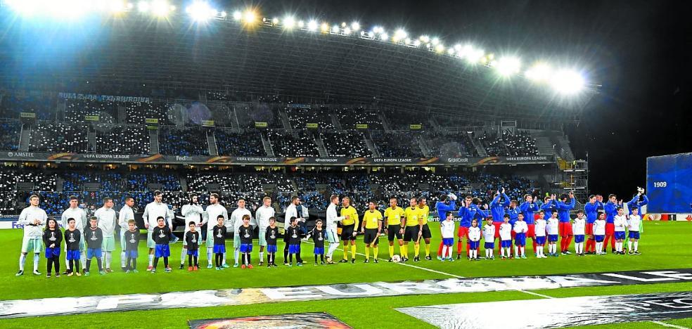 La Real Sociedad conoce este mediodía a su rival en Europa
