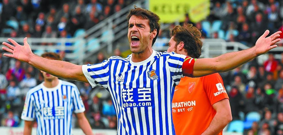 Varados. El uno a uno de la Real Sociedad ante el Málaga