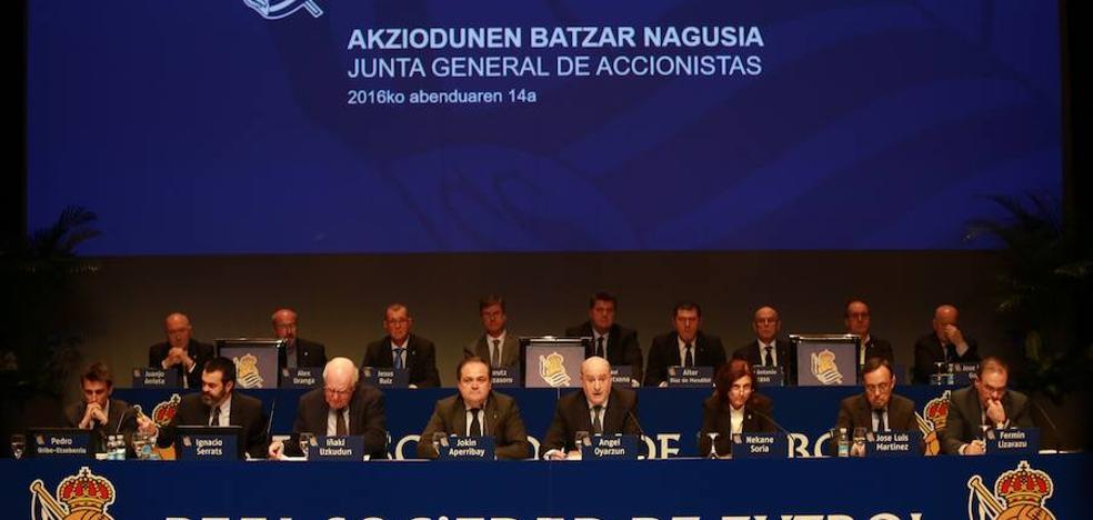 La Real Sociedad renovará parte de su Consejo en la Junta de este miércoles