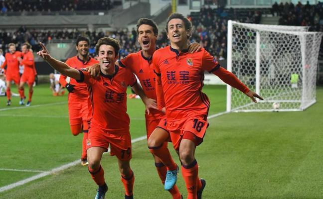 Salzburgo, rival de la Real Sociedad en dieciseisavos de final de la Europa League