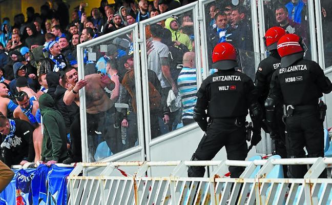 La UEFA exime a la Real por los incidentes del Zenit