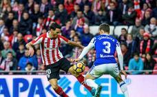 Diego Llorente: «El equipo no se ha conformado con el empate»