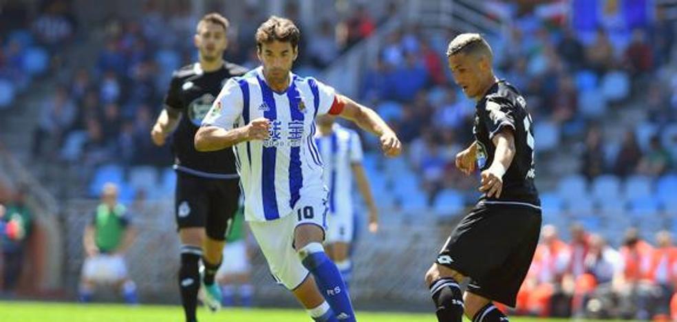 Real Sociedad: Xabi Prieto se une a las ausencias