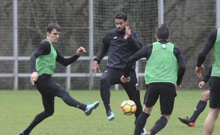Xabi Prieto se une al entrenamiento