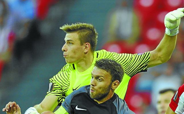 Andriy Lunin, una apuesta de futuro para la portería de la Real Sociedad