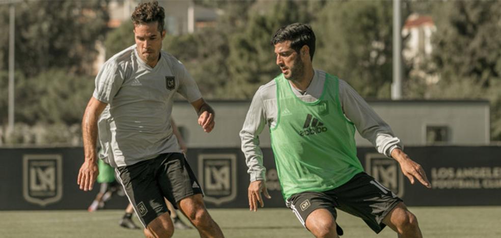 Carlos Vela: «En Europa estás todo el año cansado, jugando, entrenando y entrenando»