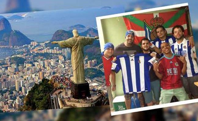 La Real estrena peña en Brasil