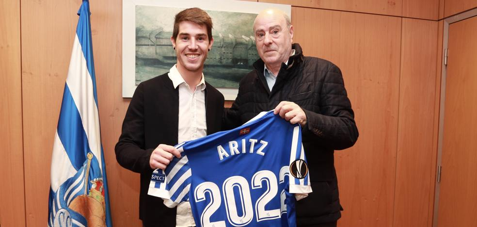 Aritz, txuri-urdin hasta 2022