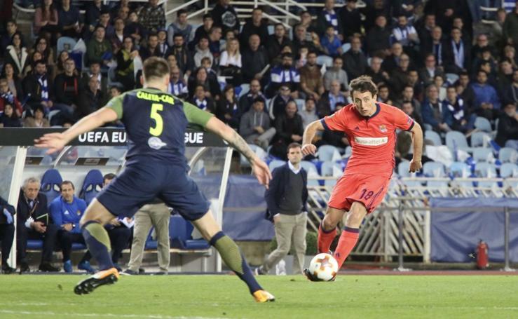 Real Sociedad - Salzburgo (2-2)