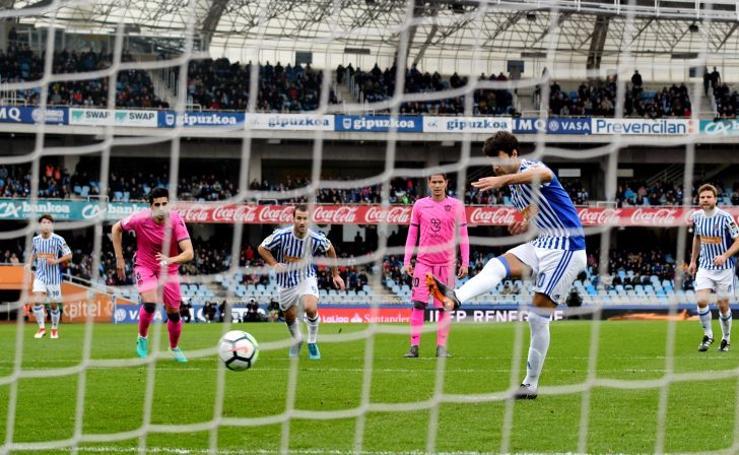 Real Sociedad 3 - Levante 0