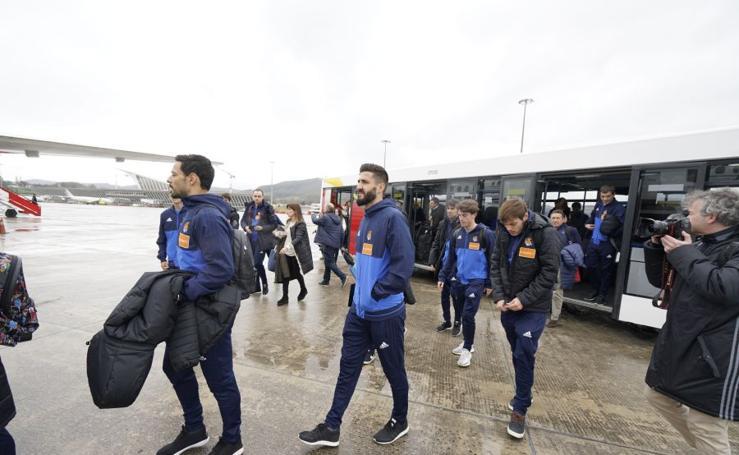 La Real Sociedad parte rumbo a Austria
