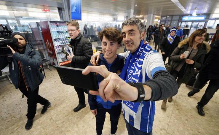 La Real Sociedad ya está en Salzburgo