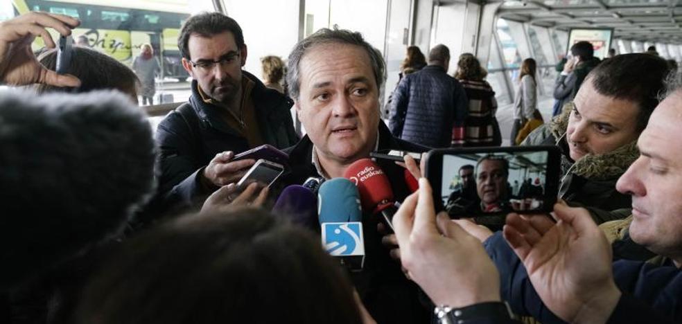 Aperribay: «No hemos jugado lo suficientemente bien para pasar la eliminatoria»