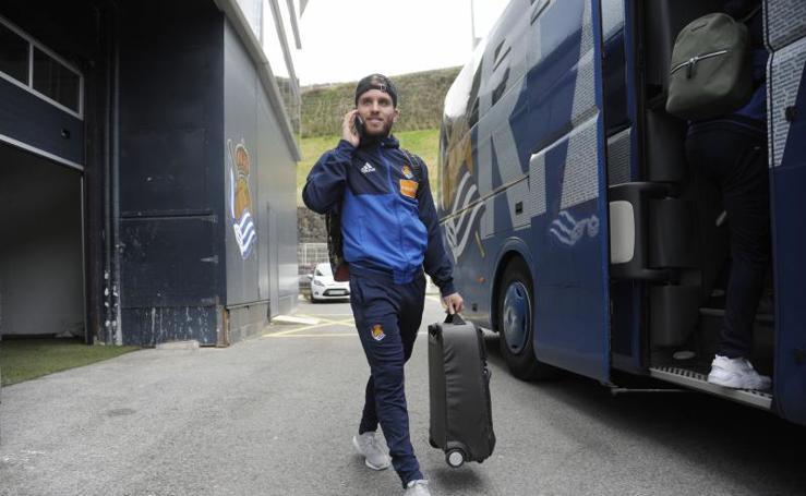 La Real se prepara para visitar al Espanyol