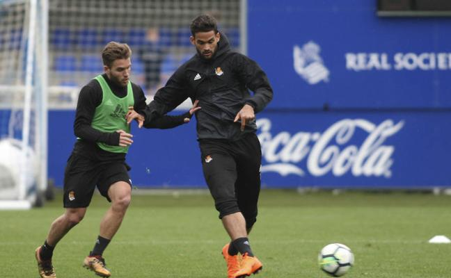 Willian José: «Estamos con el míster»