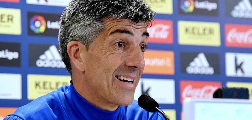 Imanol Alguacil: «La responsabilidad es máxima para los jugadores y para mí»
