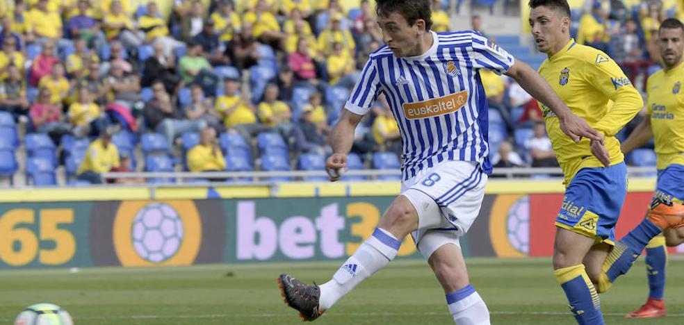 Las claves de la victoria de la Real Sociedad ante Las Palmas