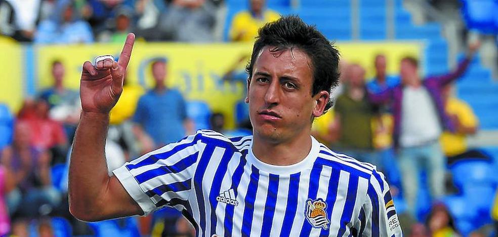El uno a uno de la Real Sociedad ante el Las Palmas
