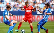 El uno a uno de la derrota de la Real Sociedad ante el Málaga