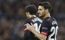 Aduriz no se entrena y es duda para el partido frente a la Real Sociedad
