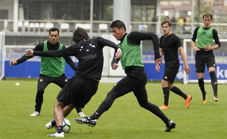 La Real Sociedad ha empezado a preparar la visita a Sevilla